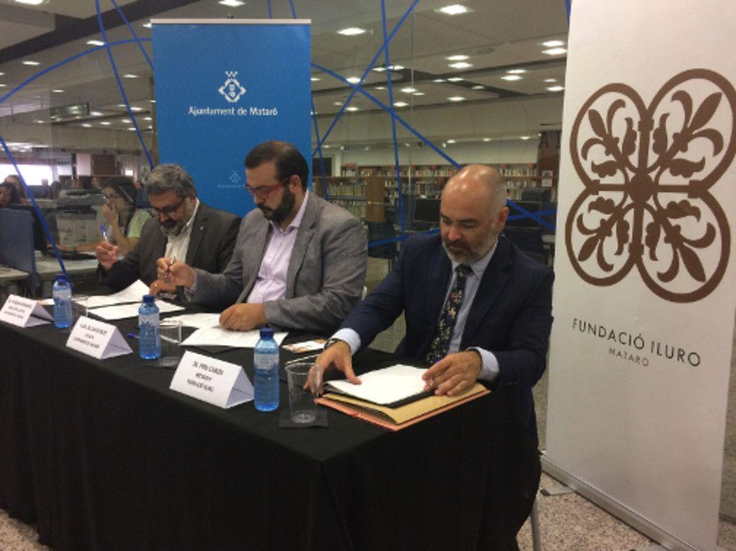 La Biblioteca De La Fundació Iluro Serà La Tercera Biblioteca Pública De Mataró