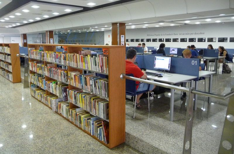 Mataró Suma La Tercera Biblioteca Municipal