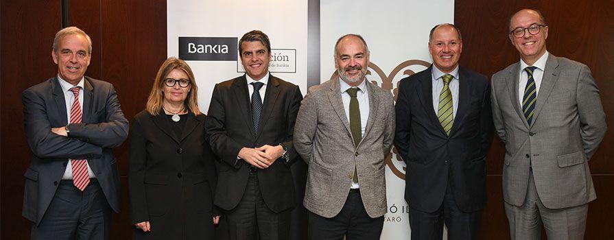 Bankia I La Fundació Iluro Recolzen Projectes Socials A La Comarca Del Maresme Per 60.000 Euros