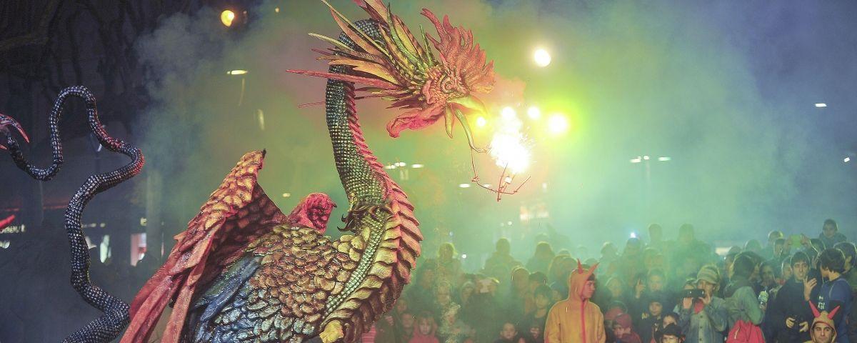 Ball de Diables convida 10 figures a la II Mostra de Bestiari Festiu de Catalunya