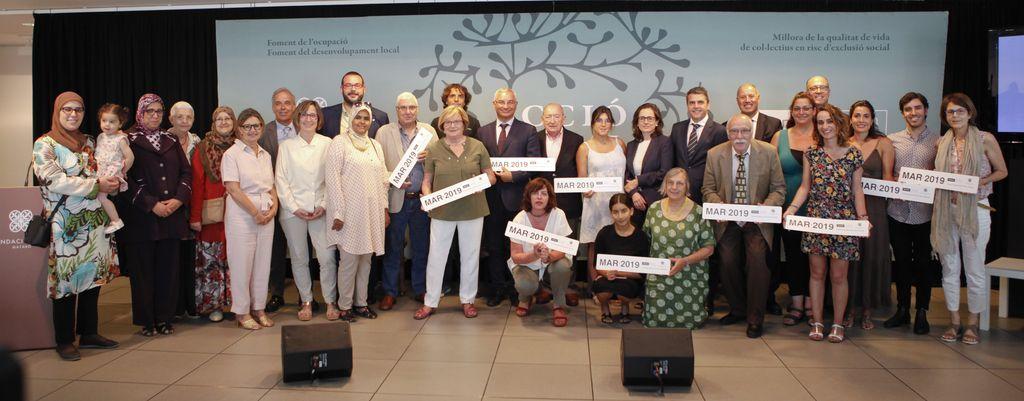 Bankia I La Fundació Iluro Donen Suport A 12 Projectes Socials A La Comarca Del Maresme Amb 45.000 Euros