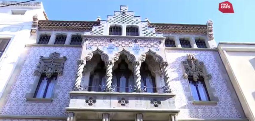 La Casa Coll i Regàs és un reclam turístic durant l'estiu