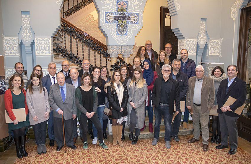 La Fundació Iluro Ha Atorgat 40.000 Euros En Ajuts Socials Propis En Un Acte A La Casa Coll I Regàs