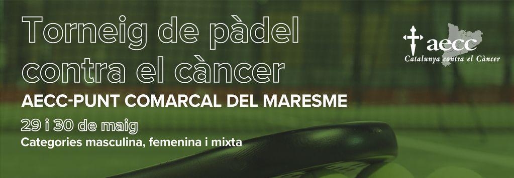 TORNEIG DE PÀDEL LLUITA CONTRA EL CÀNCER