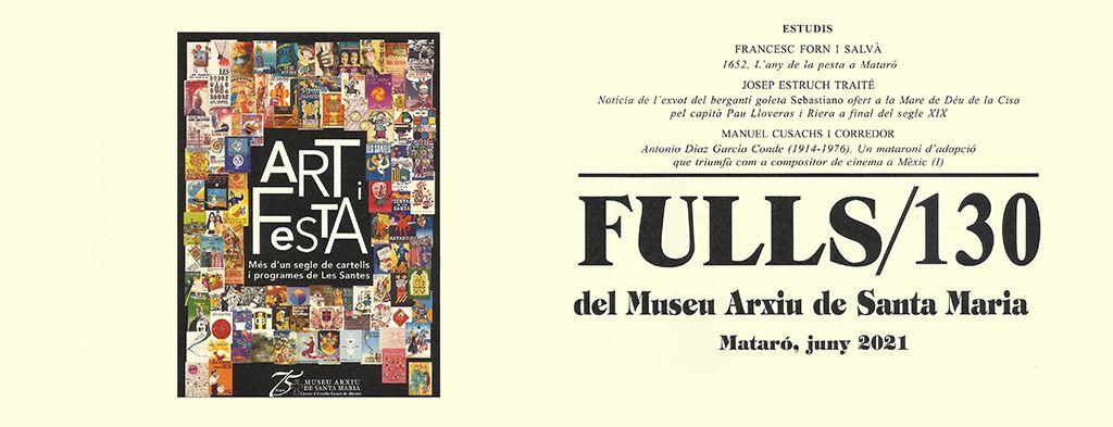 PRESENTACIÓ DE LA REVISTA FULLS NUMERO 130